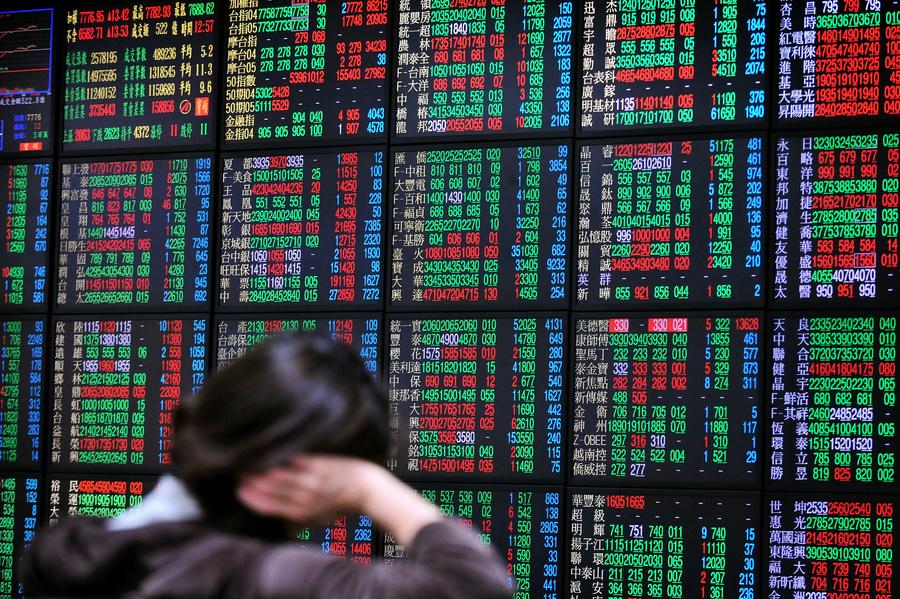 大陸A股4月份外來資金淨賣出創紀錄