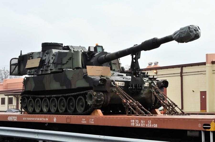 美售台M109A6 使國軍具西方先進砲兵能力