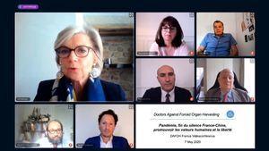 法國DAFOH電視會議 抵制中共強摘器官