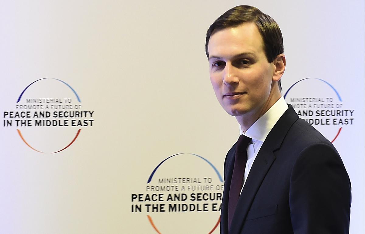 白宮高級顧問賈里德·庫什納(Jared Kushner)。(JANEK SKARZYNSKI/AFP/Getty Images)
