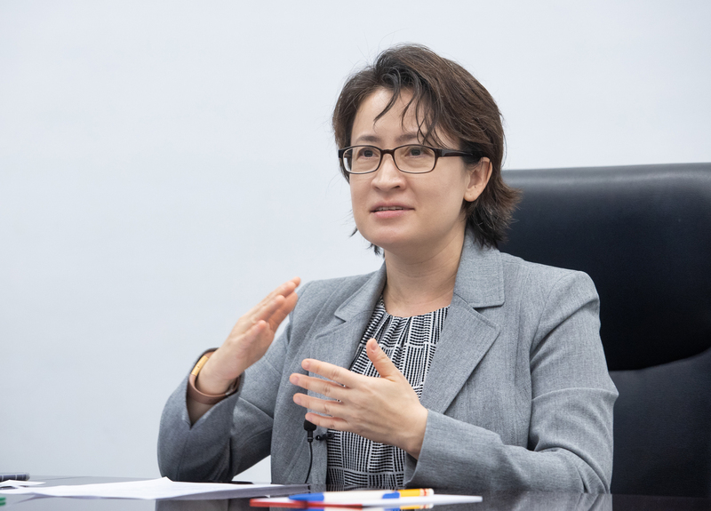 台灣首位女性駐美代表蕭美琴7月下旬赴任。她提到,自己不是職業外交官,但因此更可以有創新的做法、較無包袱,不會侷限在傳統政治外交,而是要推動全面的台美關係。資料圖。(中央社)