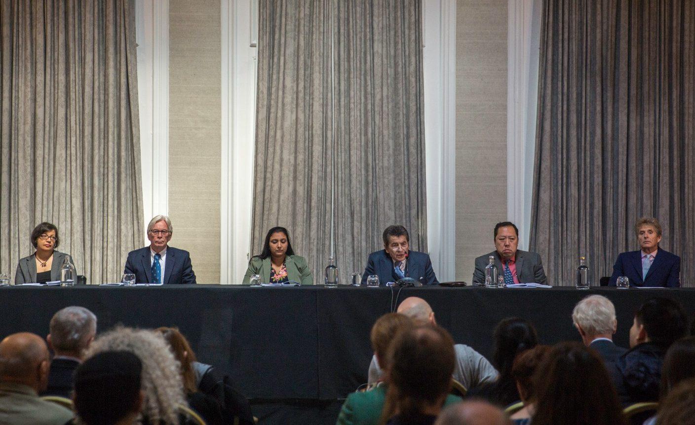 位於倫敦的獨立人民法庭6月17日表示,他們認為法輪功學員可能作為主要器官移植來源被中共強制摘取器官。(冠奇/大紀元)