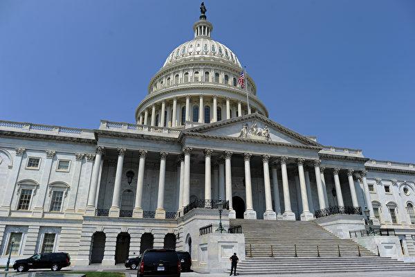 美國眾議院7月1日一致通過了《香港問責法》(也稱《香港自治法》),因法案上周已在參議院一致通過,接下來法案將送交總統特朗普簽字,有望快速生效。圖為美國國會山。(JEWEL SAMAD/AFP/Getty Images)