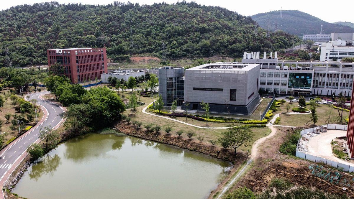 武漢病毒研究所的P4實驗室。(HECTOR RETAMAL/AFP via Getty Images)