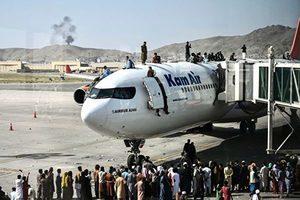 美大使館:軍方難保前往喀布爾機場安全通行