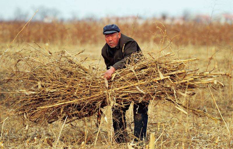 中國貧困人口脫貧不易。(AFP)