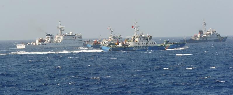 中日東海撞船後 中越南海也發生撞船事件