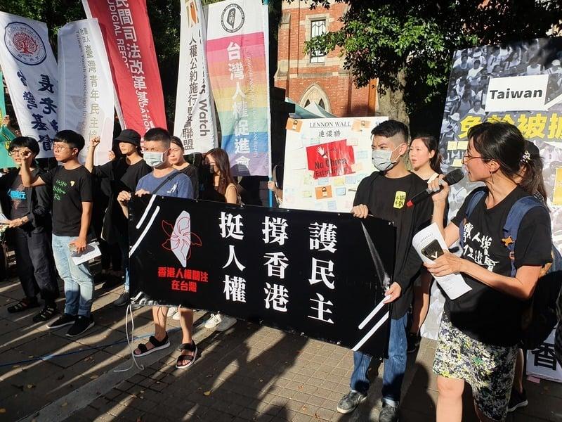 外媒稱港人為生命而戰 台民團聲援香港