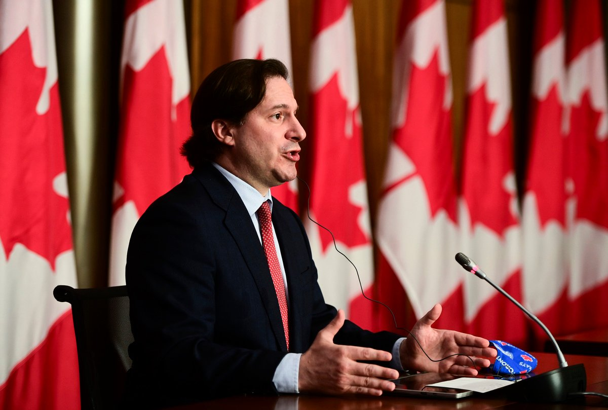加拿大移民部長門迪奇諾(Marco E. L. Mendicino)當天宣佈,該2項移民計劃現已開通並接受申請。(加通社)