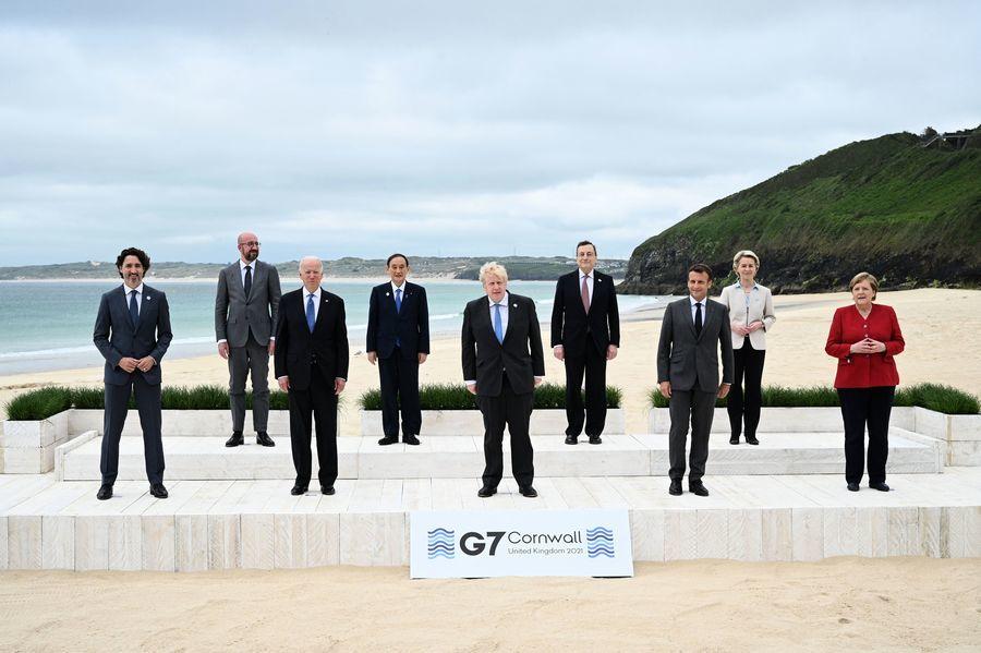 G7公報提台海和平 蔡英文:堅守民主自由信念