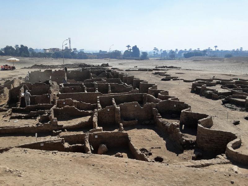 距今三千多年 埃及最大的「失落黃金城」