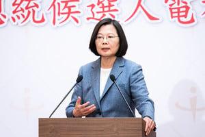 蔡英文:台灣憂中共滲透 反滲透法不是戒嚴