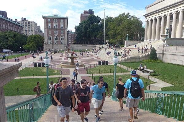 中共長臂深入美國校園,華盛頓擔心中共藉此竊取知識產權。並導致中國學生及學者在美國校園面臨「新的紅色恐怖」。圖為在美國的中國留學生。(蔡溶/大紀元)