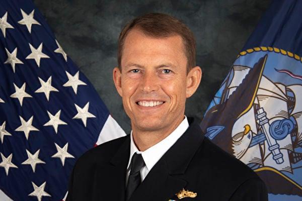 美國海軍印太情報總指揮官、少將史都德曼(Michael Studeman)。(美國海軍官網)