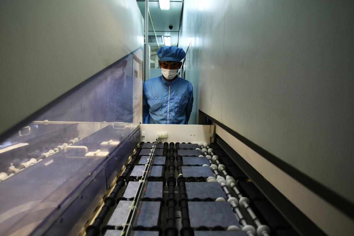 對中共態度強硬的美國國會議員正敦促拜登政府限制銷售晶片生產設備給中企,類似於美國先前對中國電信設備製造商華為技術公司所採取的行動。(Feng Li/Getty Images)