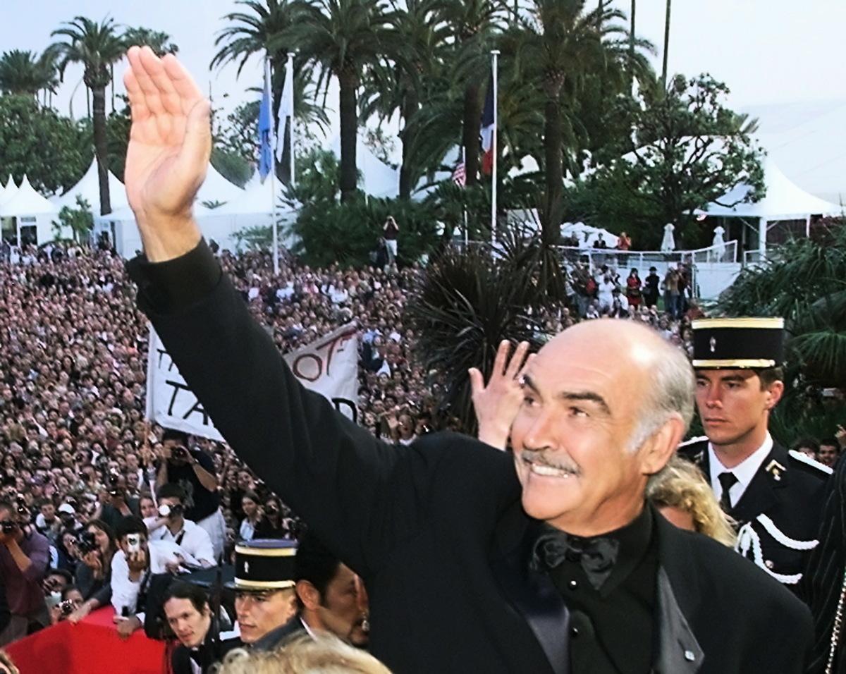 曾飾演「007」詹姆斯‧邦德(James Bond)的蘇格蘭著名演員肖恩‧康納利(Sean Connery)去世,得年90歲。他曾獲得包括奧斯卡金像獎在內的多個國際性大獎。(Photo by Christophe SIMON/AFP)