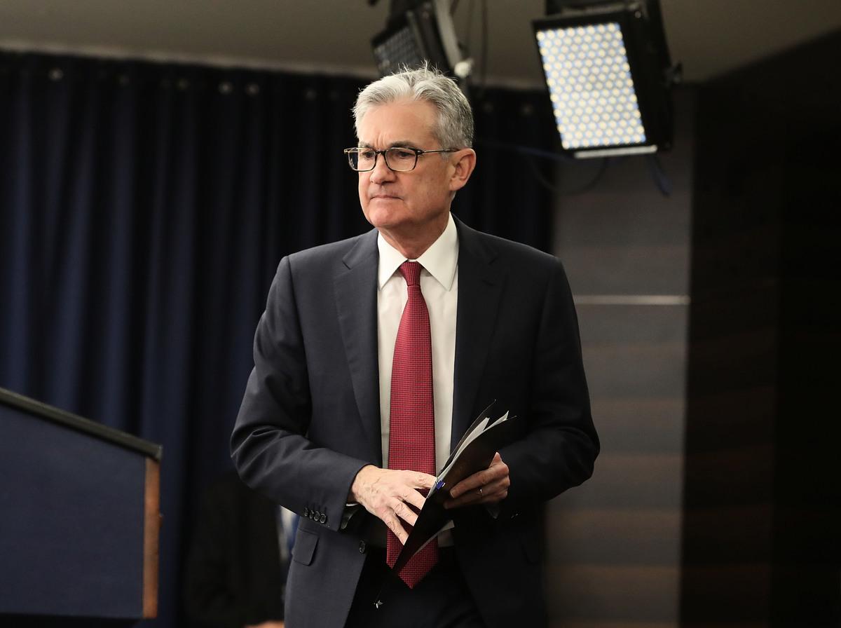 美聯儲12月宣布加息25個基點,將聯邦基金利率目標區間上調至2.25%~2.5%。這是2018年美聯儲的第四次加息,也是啟動加息週期三年來第九次加息,但2019年可能只會加息2次。 (Mark Wilson/Getty Images)