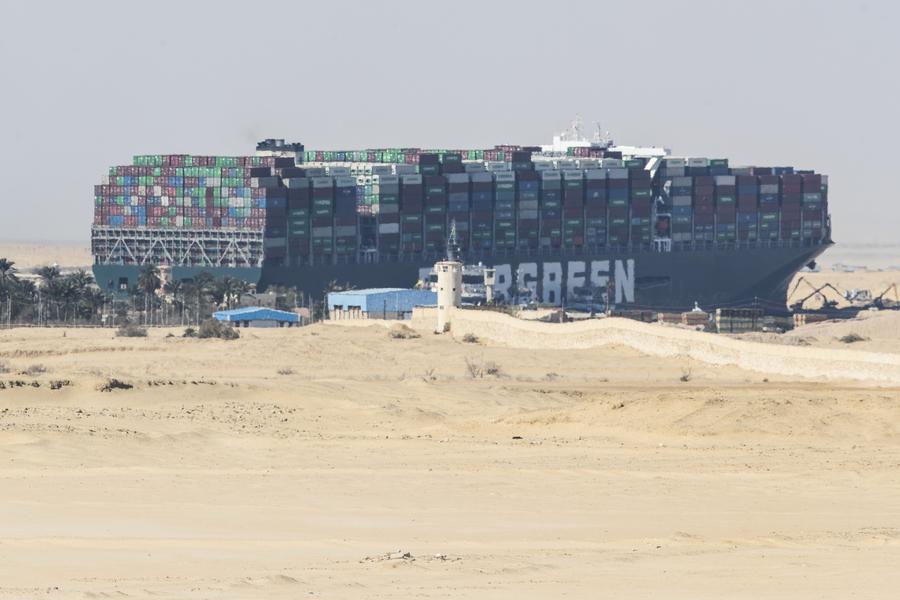 五角大樓:蘇伊士運河停航或影響軍艦過境
