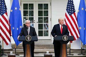 美歐消除貿易危機 將聯手制衡中共