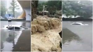 重慶巫溪暴雨引發山洪 多地發氣象地質預警