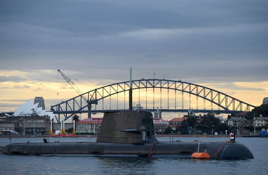 澳美及其盟友競相打造潛艇 阻止中共攻台