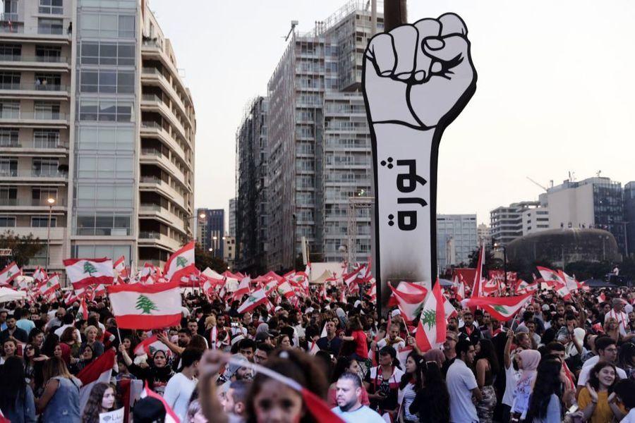 黎巴嫩全民反貪污要求政改 總理被迫辭職