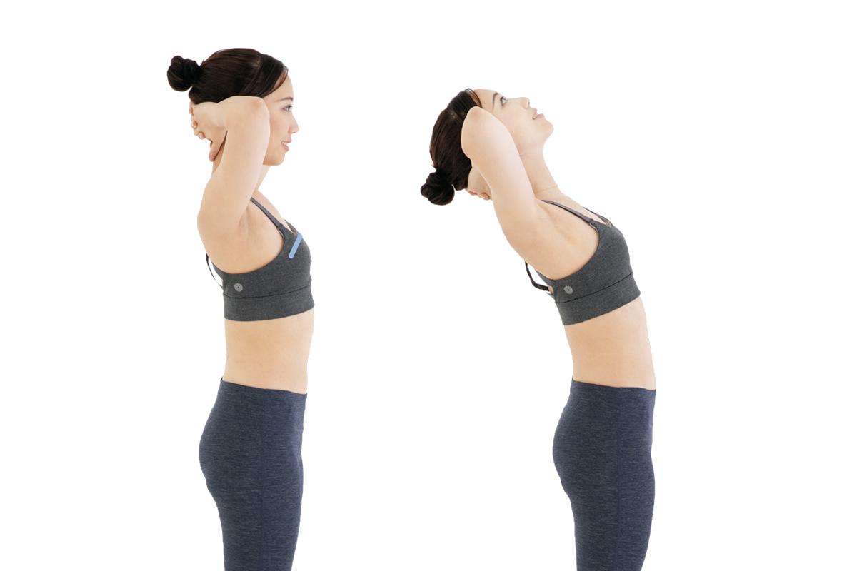 小腹凸不一定是因為肥胖,簡單拉伸腹肌動作幫你瘦小腹。(高寶書版/大紀元合成)