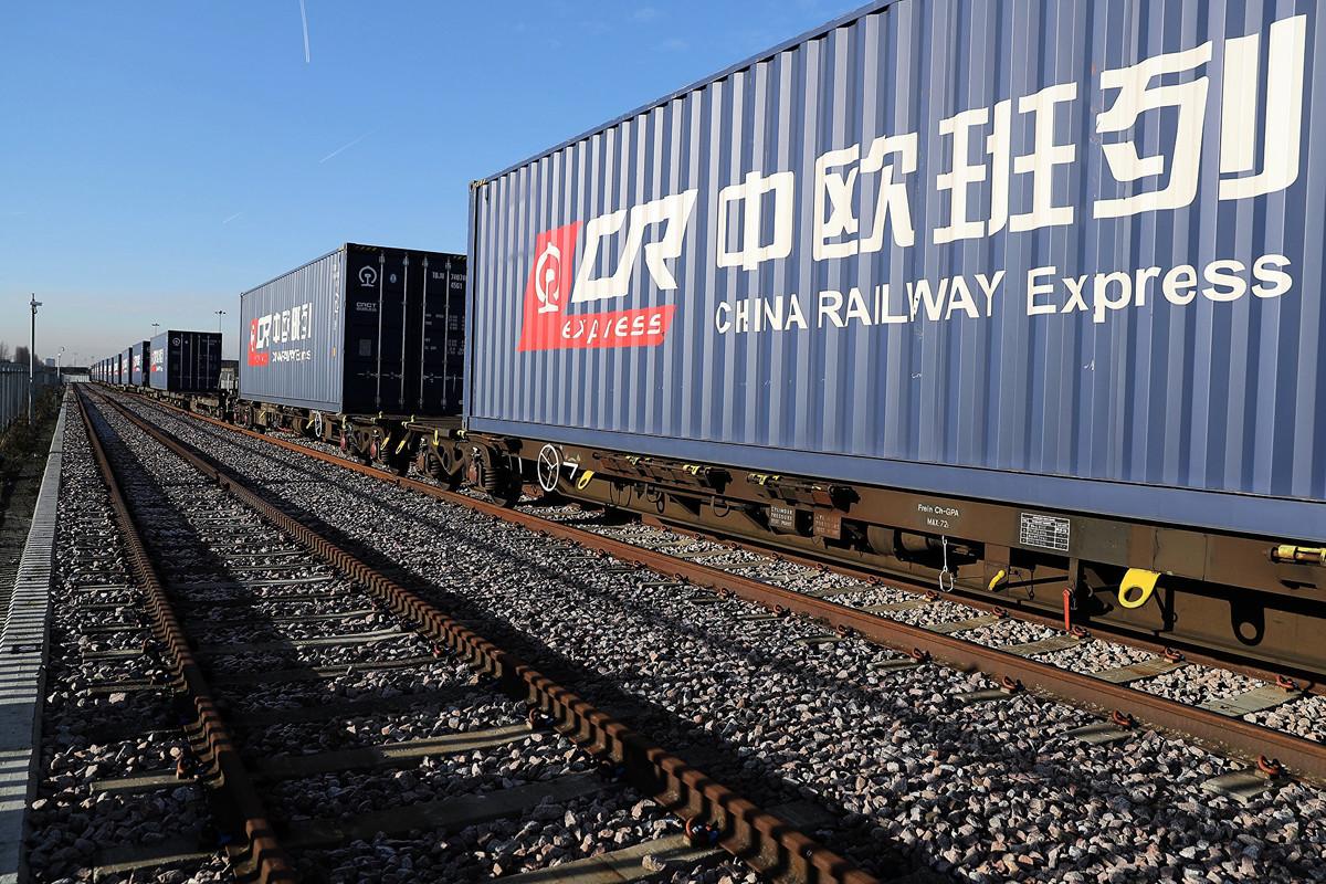中共近些年來在歐洲推廣「一帶一路」項目、中歐班列(往來於中國與歐洲以及一帶一路沿線各國的集裝箱國際鐵路聯運班列)以及大舉收購歐洲科技公司的系列舉動,引發歐盟各國警覺。(Dan Kitwood/Getty Images)