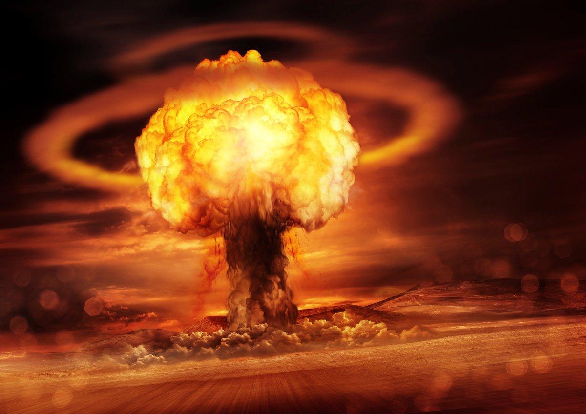 美國國會的一份報告表示,中共、北韓、俄羅斯和伊朗等國家正在製造可用來產生超強電磁脈衝的核彈。圖為核彈爆炸的示意圖。(Fotolia)