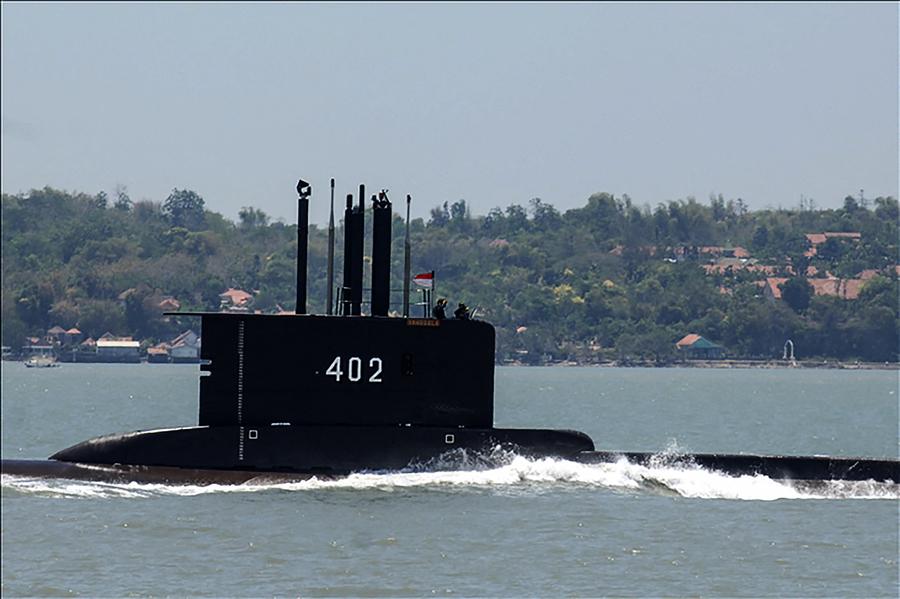 印尼搶分奪秒搜救失蹤潛艇 美國派出空援