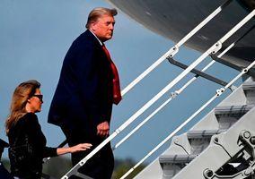 特朗普不出席海湖莊園新年宴會 提前返回白宮