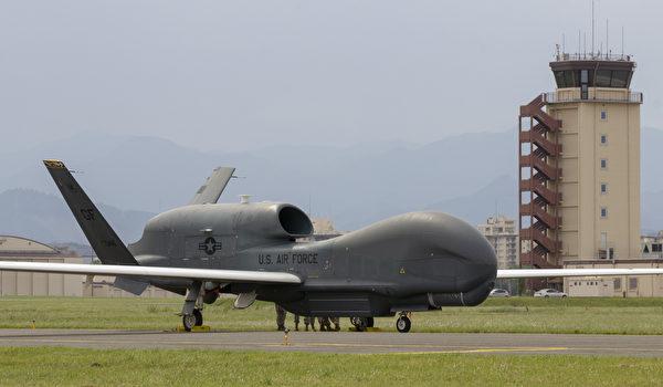2020年5月30日,美軍RQ-4全球鷹無人機部署到日本橫田空軍基地。(美國印太司令部)