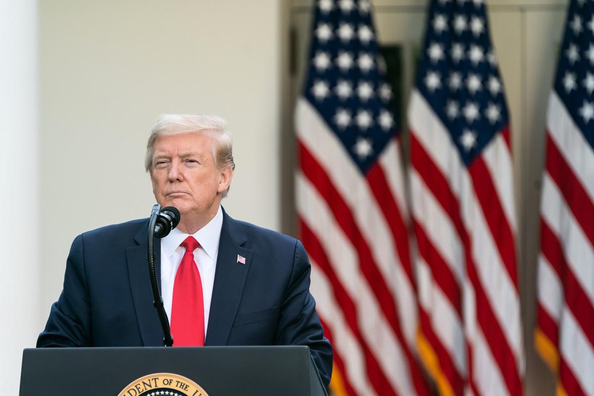美國大選將近,候選人特朗普和拜登爭批中共,中美關係堪憂。(白宮Flicker)