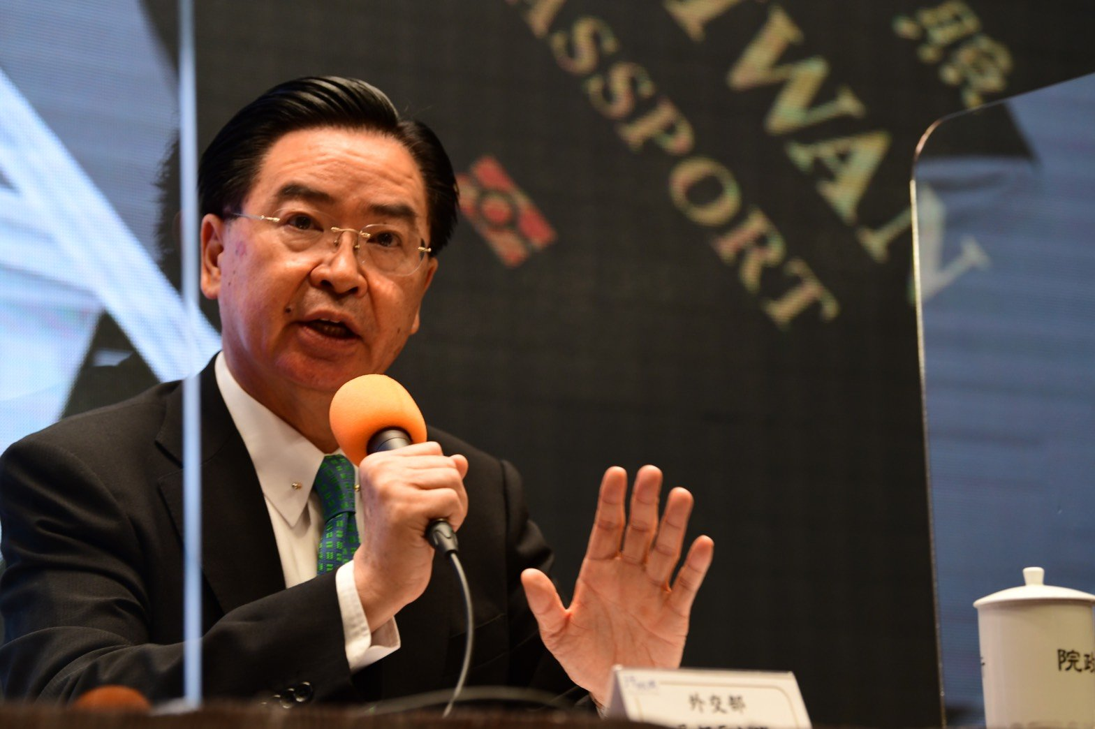 中華民國外交部長吳釗燮。資料圖(行政院提供)