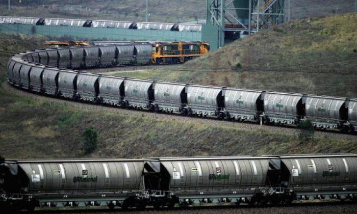澳洲佔全球煤炭貿易的三分之一。(Ian Waldie/Getty Images)