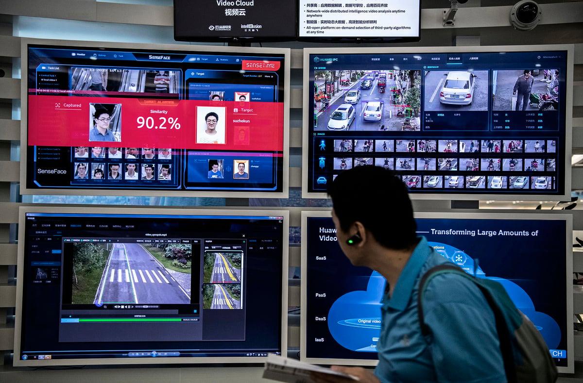 華為向海外輸出寬頻網絡沒表面上那麼簡單,實質是關於生態系統。有了華為後,緊接著的是中共的電子商務和電子金融進入……數年後,中共治下的中國是甚麼樣,別的國家可能就是甚麼樣。(Kevin Frayer/Getty Images)
