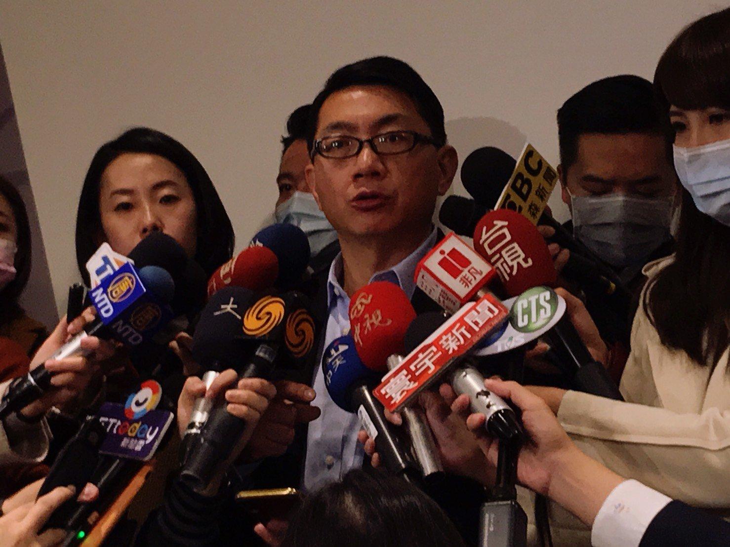 湖北台灣同胞返台救援會長徐正文。(李怡欣/大紀元)