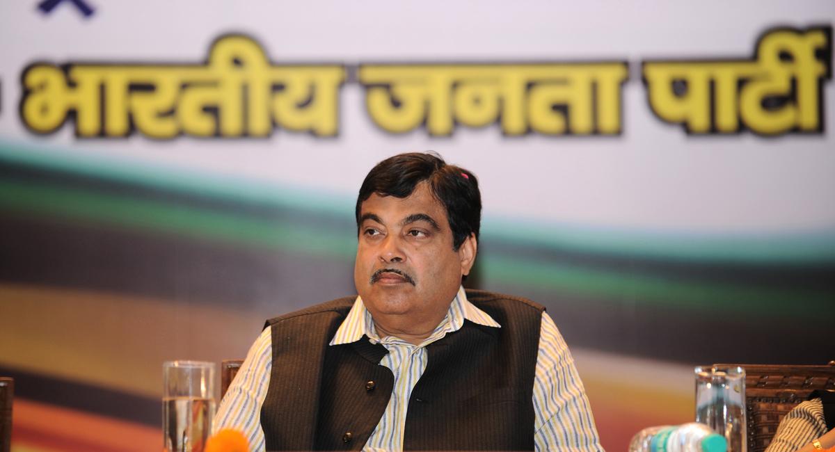 圖為印度交通部長加德卡里(Nitin Gadkari)。(SAJJAD HUSSAIN/AFP via Getty Images)