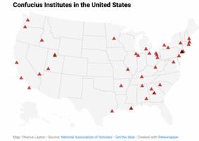 美國還有多少所孔子學院?
