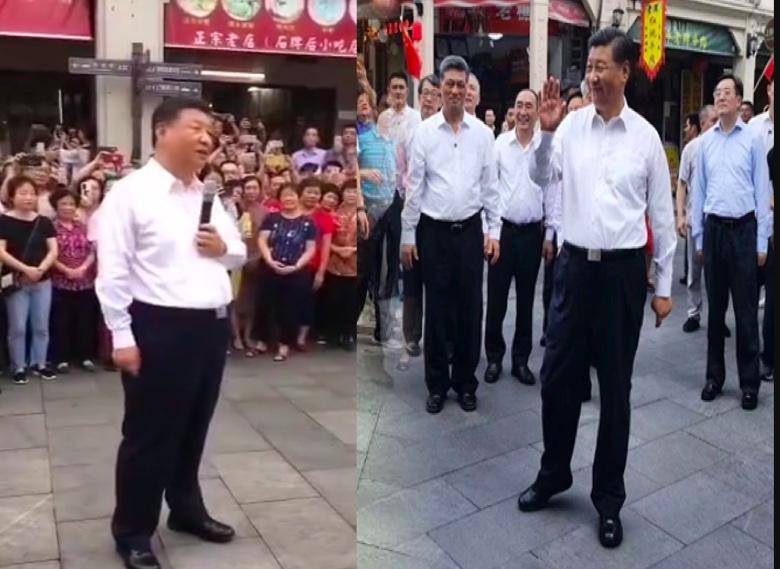 袁斌:習近平視察深圳 一路部署「群眾演員」