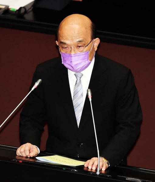 台行政院長蘇貞昌:八月底千萬劑疫苗到位