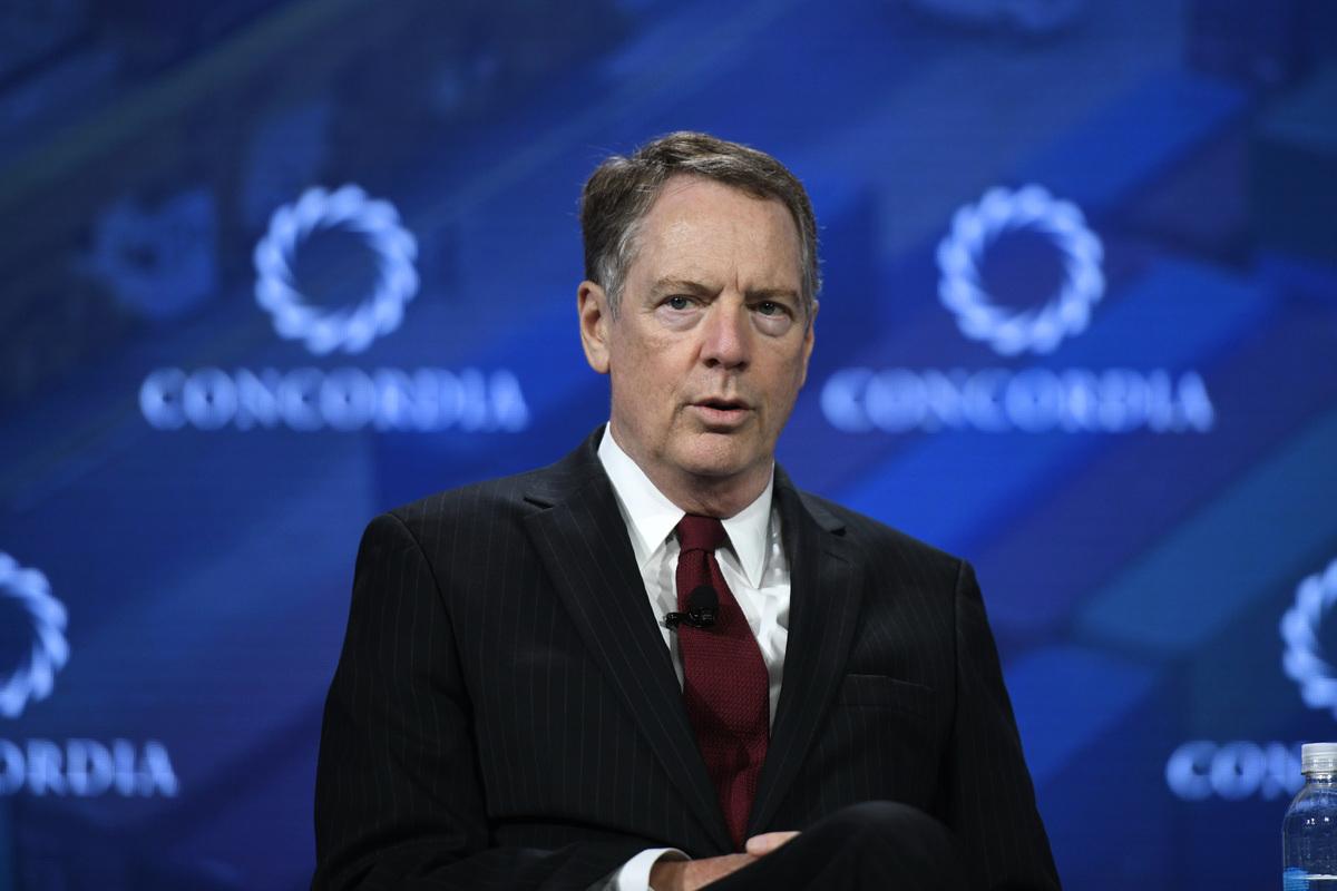 美國貿易代表萊特希澤,被喻為貿易戰場上的巴頓將軍。 (Riccardo Savi/Getty Images for Concordia Summit)