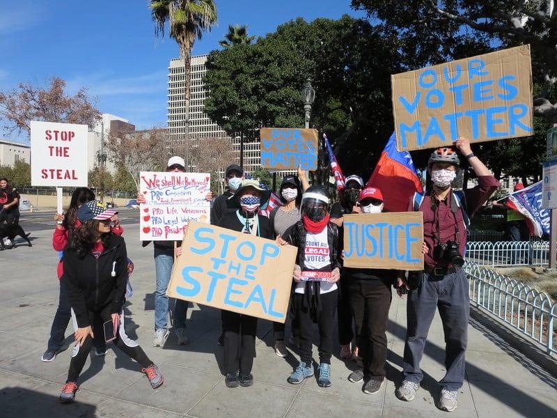 加州與13縣官員被控告選舉舞弊