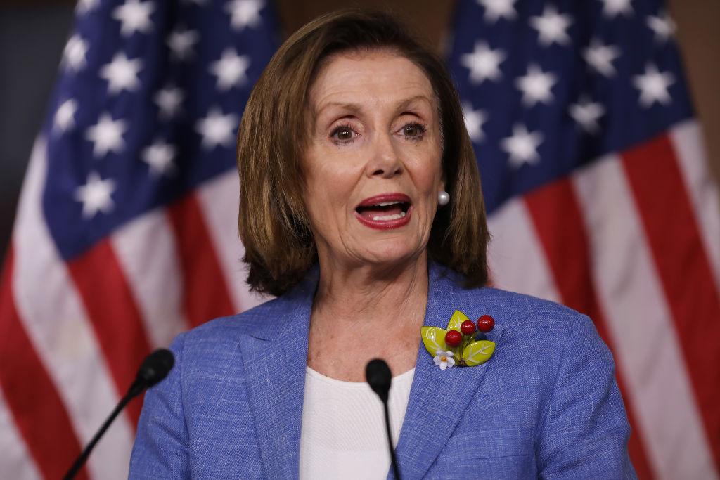美國國會眾議院議長南希·佩洛西(Nancy Pelosi)。(Chip Somodevilla/Getty Images)