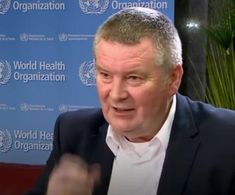 世界衛生組織專家Mike Ryan警告說,未來的瘟疫更可怕。(WHO影片截圖)