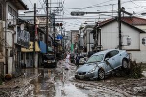日本九州洪水已致20人死亡 14人失蹤