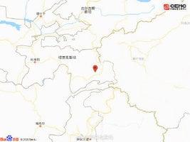 塔吉克、新疆邊境附近發生6.1級地震