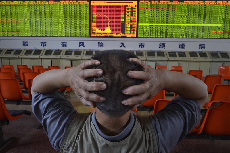 2018年12月27日,美國股市創下上漲紀錄,中國股市卻跌回12年前的紀錄。圖為資料照。(大紀元資料室)