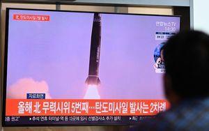 北韓再向日本海試射 疑為新式近程彈道導彈