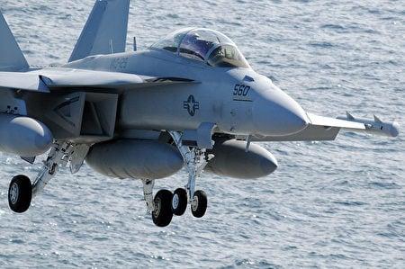 EA-18G電子戰機。(維基百科)